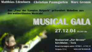Flyer Musical Gala