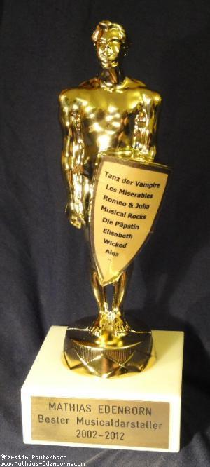 Oscar-Statue von vorne