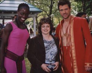 Florence Kasumba, Karin Reuter, Mathias Edenborn
