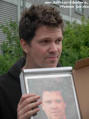 Mathias Edenborn mit Torte