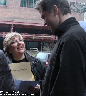 Mathias Edenborn im Gespräch mit Fan Kerstin