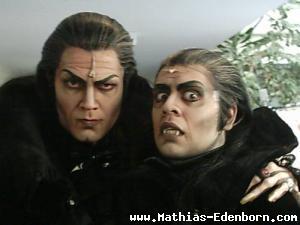 Zwei Grafen. Mathias Edenborn und Yousef Sheikh