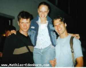 Mathias, Margherita (Huisman) und Carl (van Wegberg)
