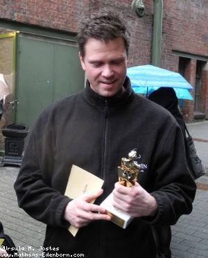 Mathias Edenborn mit Oscar