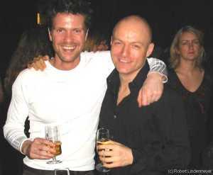 Die Silvesterparty: Mathias Edenborn und Eric Madsen